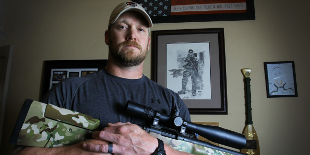Chris Kyle, a retired Navy SEAL and bestselling author of the book 'American Sniper: The Autobiography of the Most Lethal Sniper in U.S. Military History', holds a .308 sniper rifle in this April 6, 2012, file photo. Kyle was one of two people reported killed on the gun range at Rough Creek Lodge near Glen Rose, Texas, Saturday, February 2 2013. (Paul Moseley/Fort Worth Star-Telegram/MCT via Getty Images)