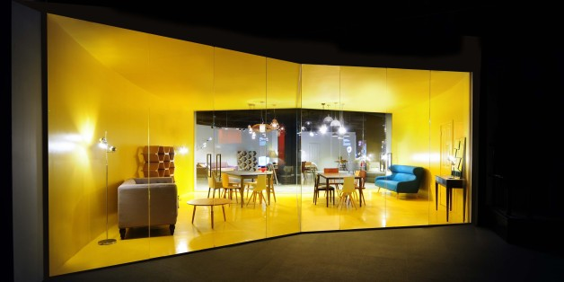 Ο νέος χώρος που σχεδίασε το Bureau de change για την εταιρεία made.com στο Λονδίνο.