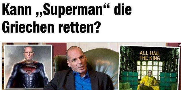 «Μπορεί ο Σούπερμαν να σώσει την Ελλάδα;» αναρωτιέται η γερμανική Bild