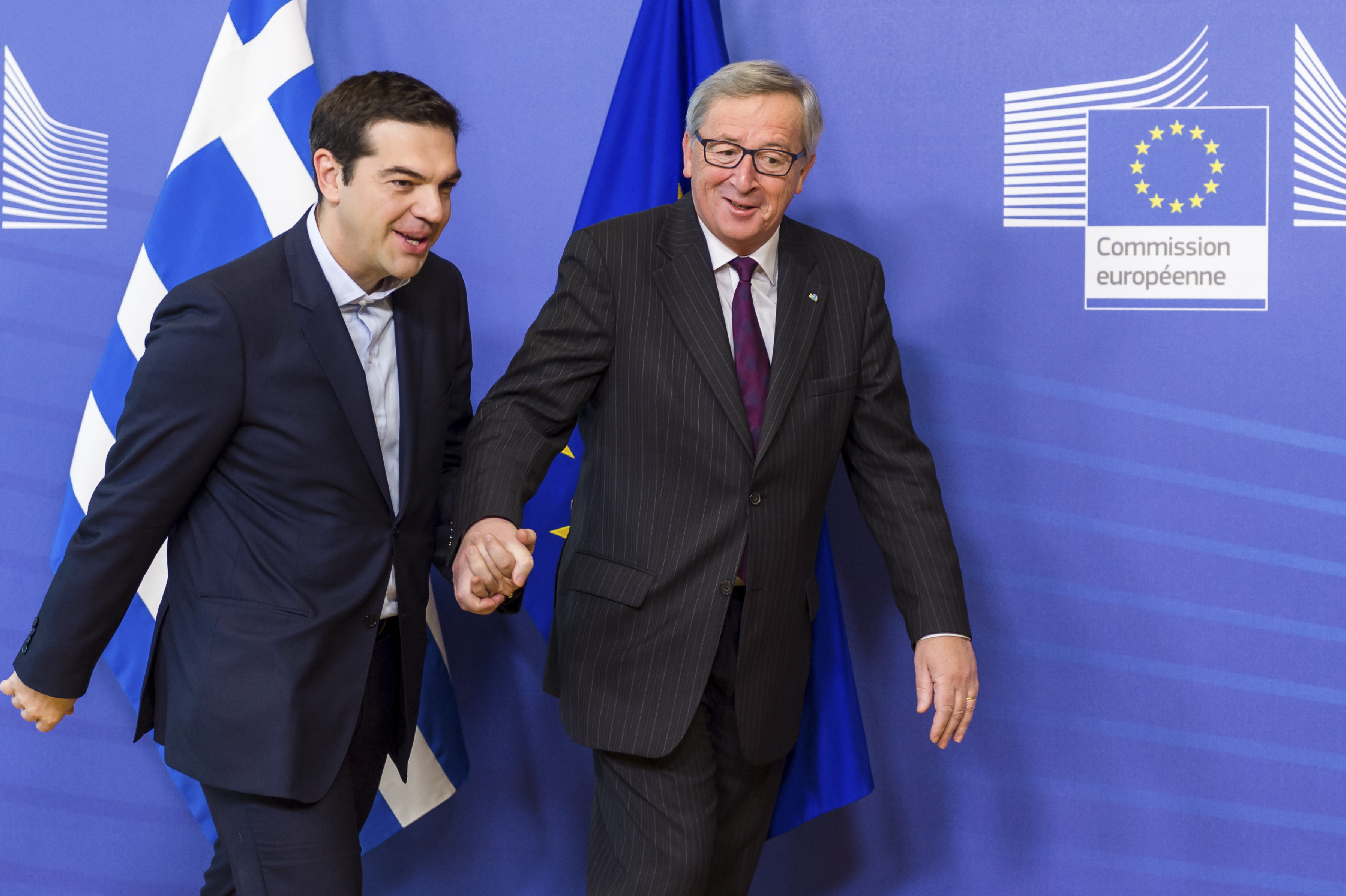 jeanclaude juncker tsipras