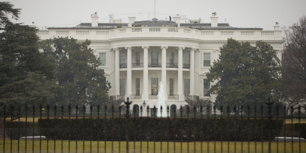 The South Lawn of the White House in Washington is seen Monday, Jan. 26, 2015. A device, possibly an unmanned aerial drone, was found on the White House grounds during the middle of the night while President Barack Obama and first lady were in India. It was unclear whether their daughters, Sasha and Malia, were at home at the time of the incident with their grandmother, Marian Robinson. (AP Photo/Pablo Martinez Monsivais)