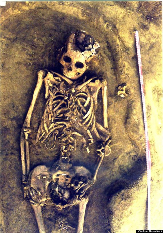 grave birth