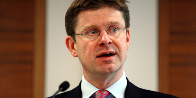 Universities minister Greg Clark whose claim that the cost of university tuition fees was no more than the price of a cup of coffee