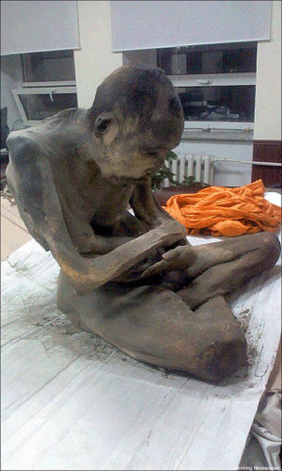 momie moine mongolie
