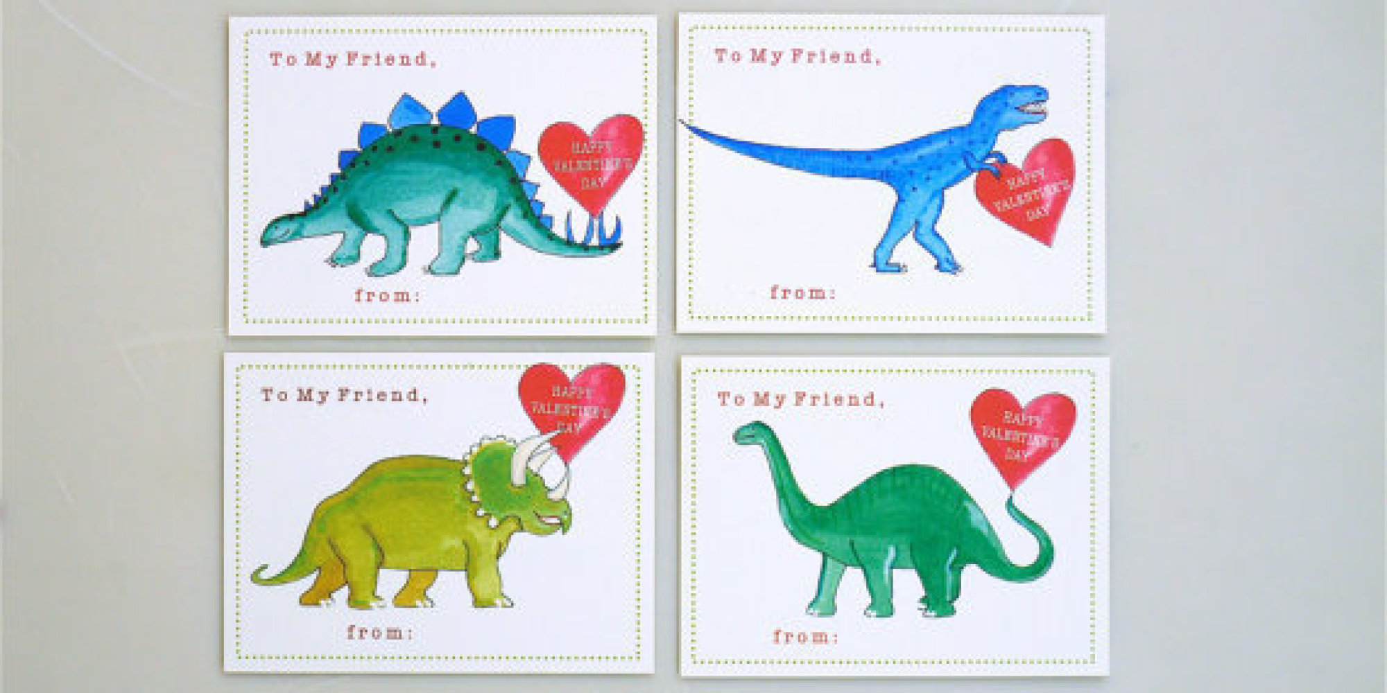 23 Valentines Day Cards That Are Actually Works Of Art – Animal Valentine Cards