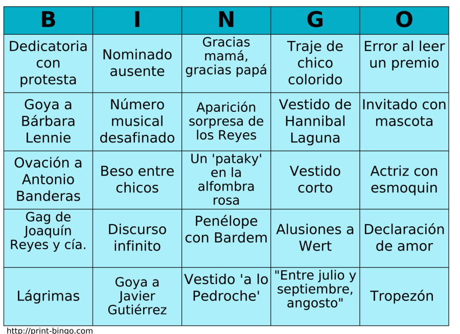 bingo goya