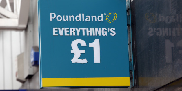 A Poundland shop in Glasgow, Scotland, as the campaign ahead of the Scottish independence referendum enters its final days.