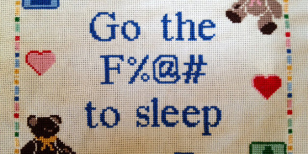 19 Hilariously Nsfw Cross Stitches You Won T Find In