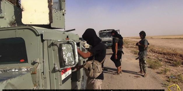 ISIS-Kämpfer im Irak
