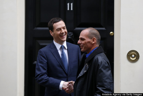 greek finance minister downing street