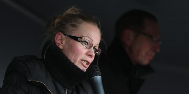 Ehemalige Pegida-Sprecherin Kathrin Oertel
