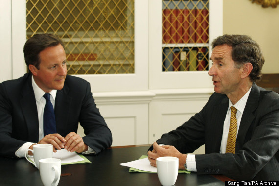 hsbc stephen green david cameron