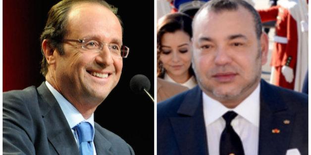 Le roi reçu aujourd'hui par François Hollande