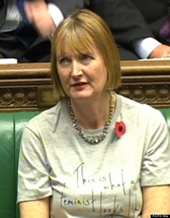 harriet harman feminist