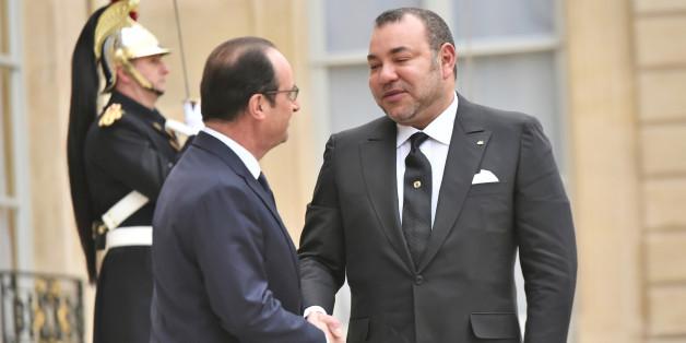 La délégation de François Hollande au Maroc
