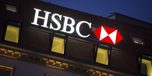 GENEVA, SWITZERLAND - FEBRUARY 09:  A HSBC logo is seen on HSBC offices on February 9, 2015 in Geneva, Switzerland.  (Photo by Harold Cunningham/Getty Images)