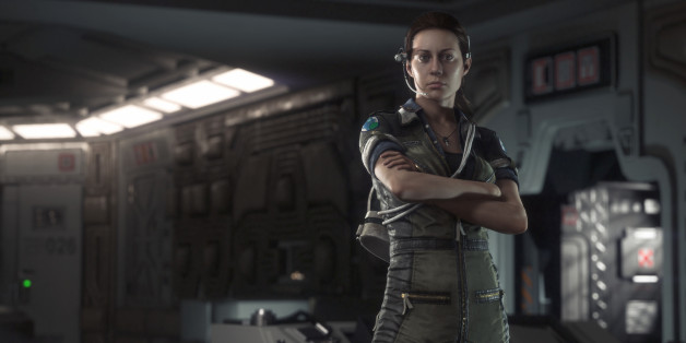 "FILE -This file image released by Sega shows a scene from the video game ""Alien: Isolation,"" featuring the character Amanda Ripley. At last week's Electronic Entertainment Expo, video game developers hyped upcoming titles featuring assassins, super-soldiers, vigilantes and demon hunters. The lack of female protagonists at E3 highlighted an ongoing issue that continues to haunt the video game industry.  (AP Photo/Sega, file)"