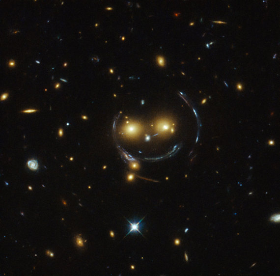 galaxie sourit