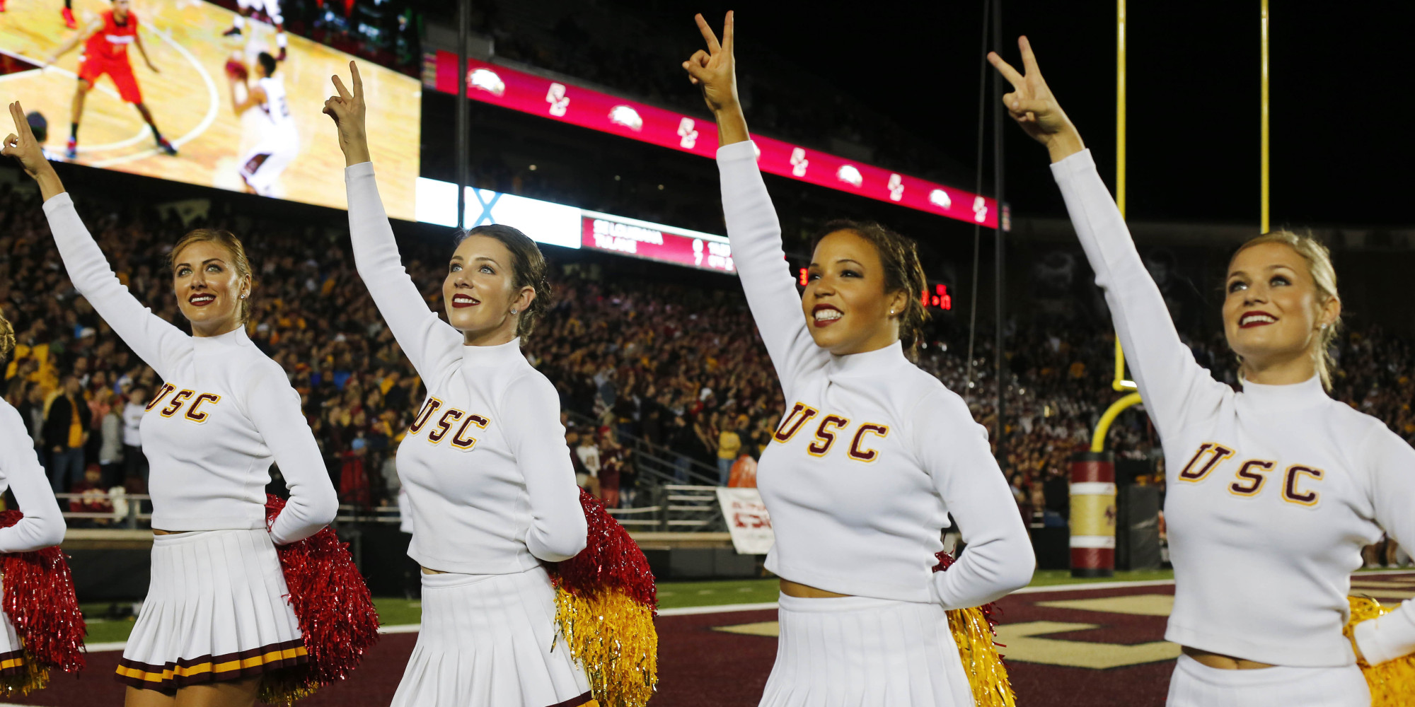Cms top 10 schools for cheerleading huffpost sciox Image collections