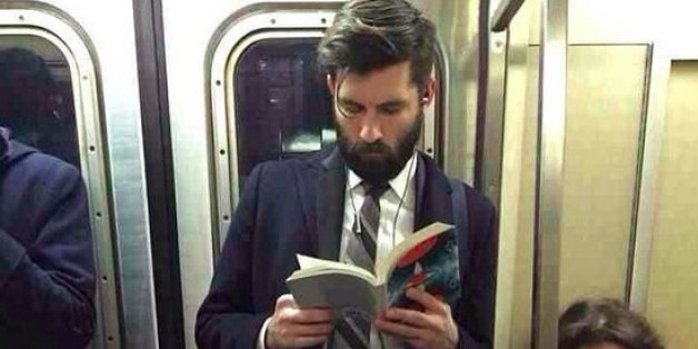 'Hot Dudes Reading' Is Proof There's Nothing Sexier Than Books