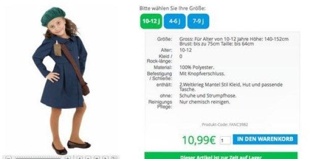 Online Versandhandel Verkauft Karnevalskostüm Für Mädchen Im Stil