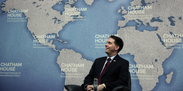 Walker gave his bizarre answer at the British foreign policy think tank Chatham House on Wednesday