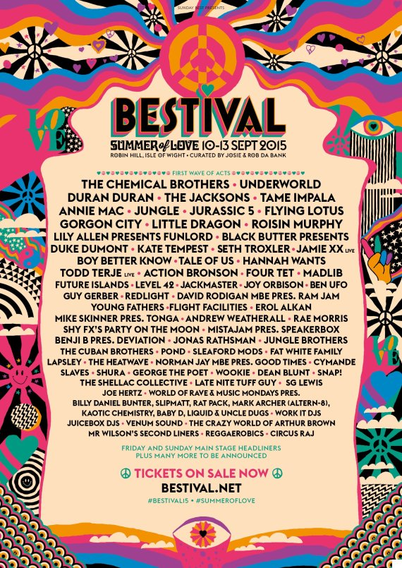 bestival line up