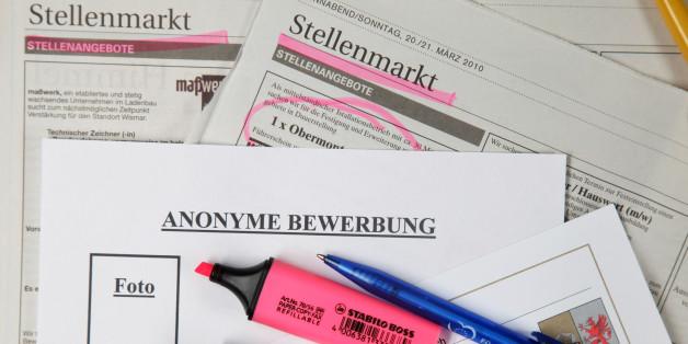 vier grnde wieso anonyme bewerbungsverfahren die jobchancen nicht steigern - Anonymisierte Bewerbung