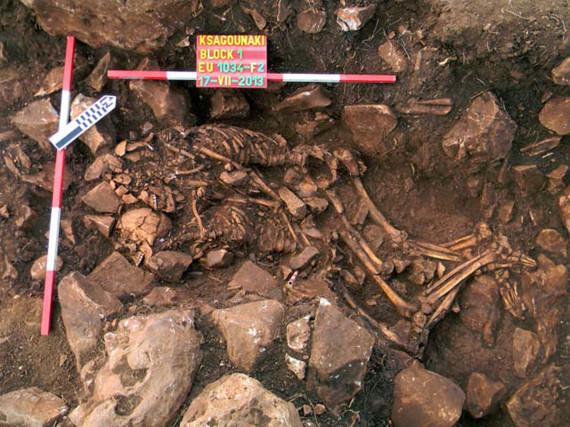 couple prehistorique