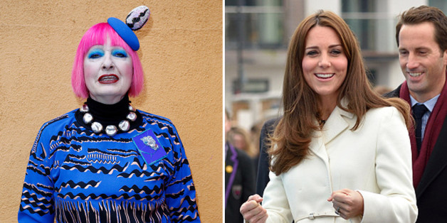 Zandra Rhodes 'did not know' the Duchess of Cambridge is pregnant