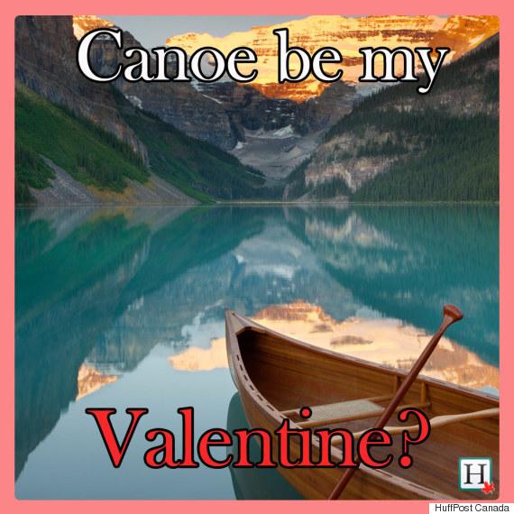 canoe valentine