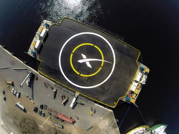 plataforma aterrizaje falcon 9