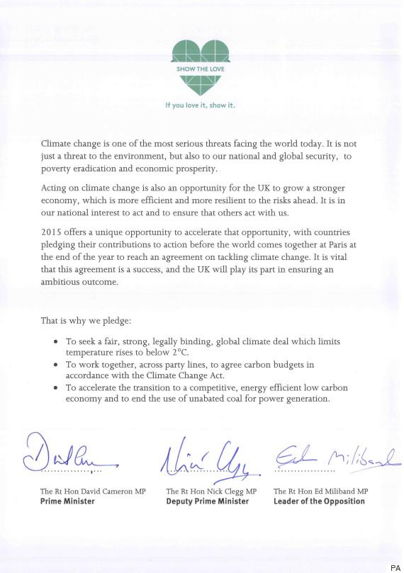 climate pledge