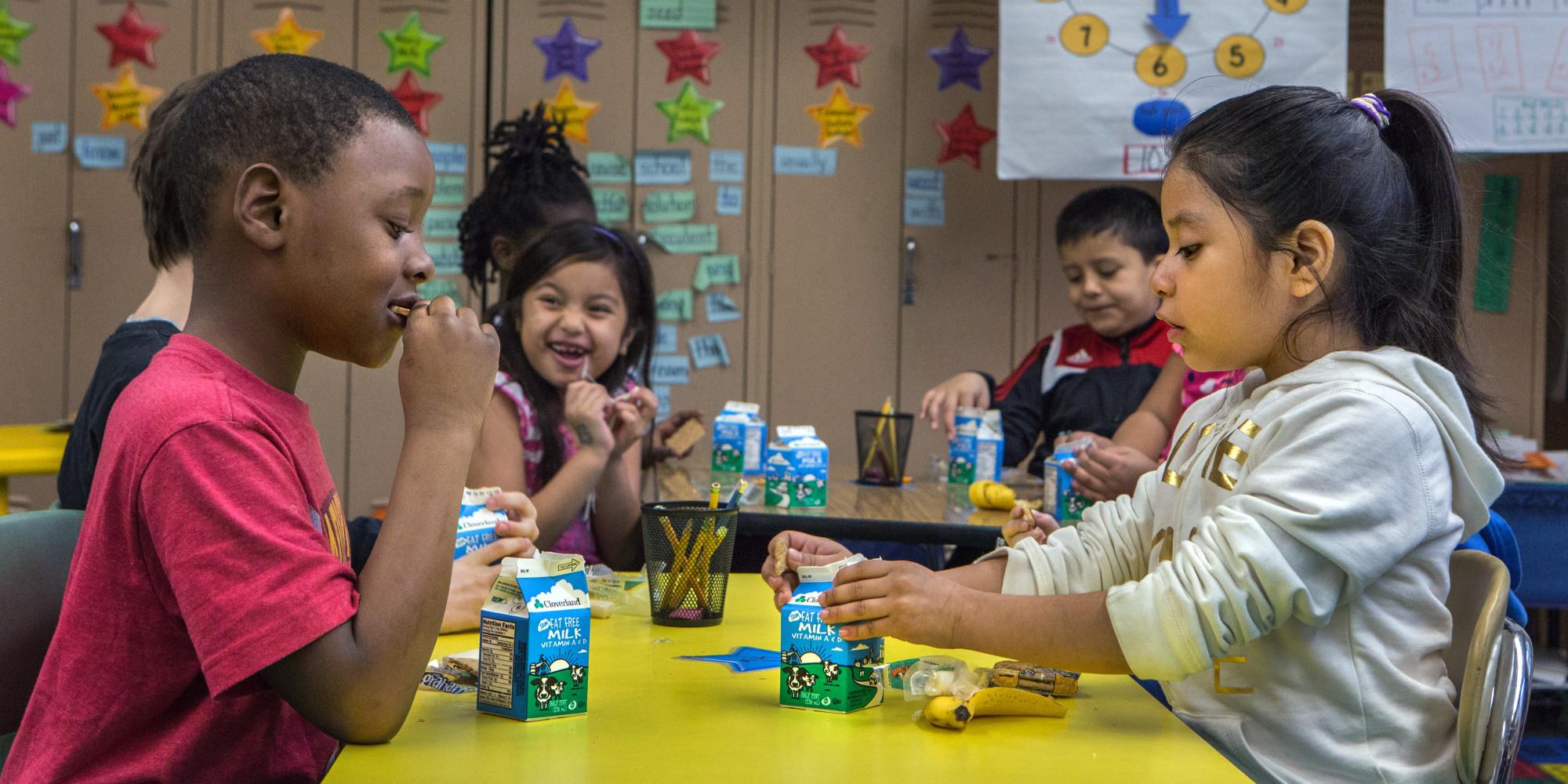 nearly half of low income kids don u0027t eat breakfast here u0027s 1 way