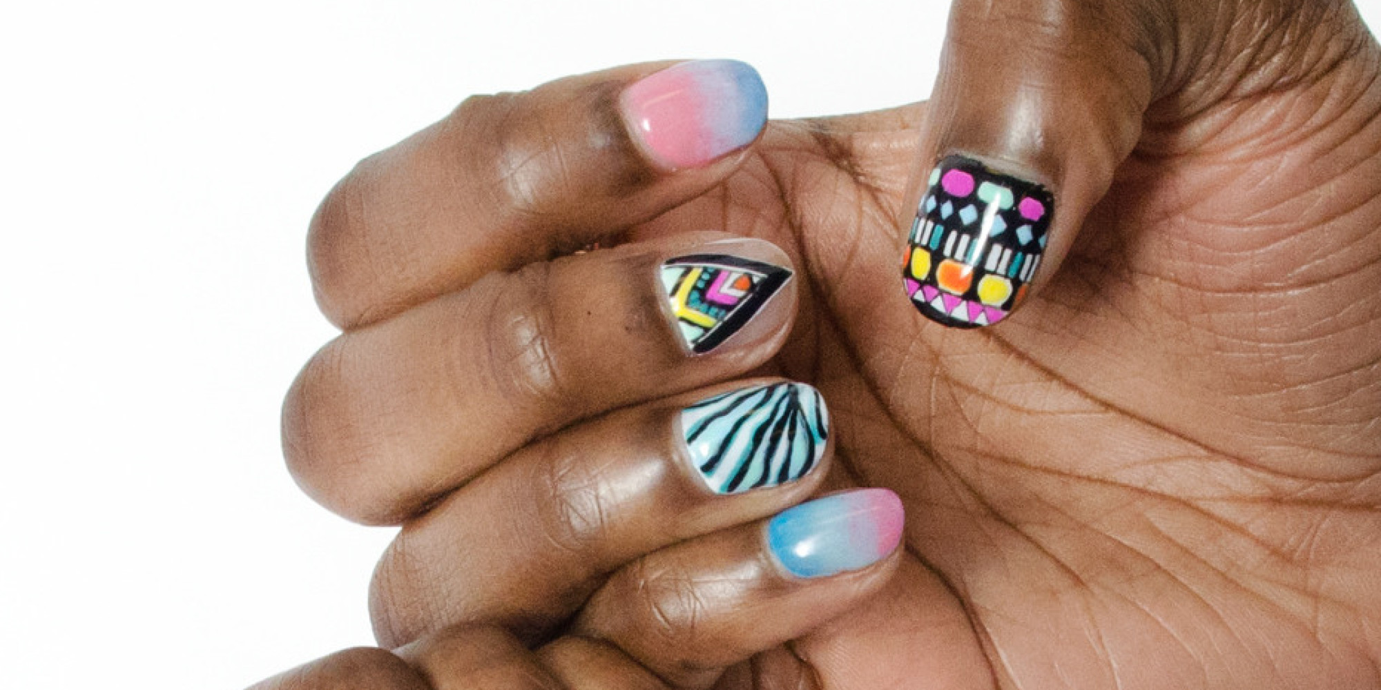 These Amazing Nail Art GIFs Will Brighten Any #ManicureMonday | HuffPost