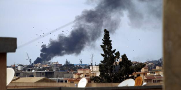 L'Egypte bombarde les positions de Daech en Libye après les décapitations (PHOTO : 14 février 2015)