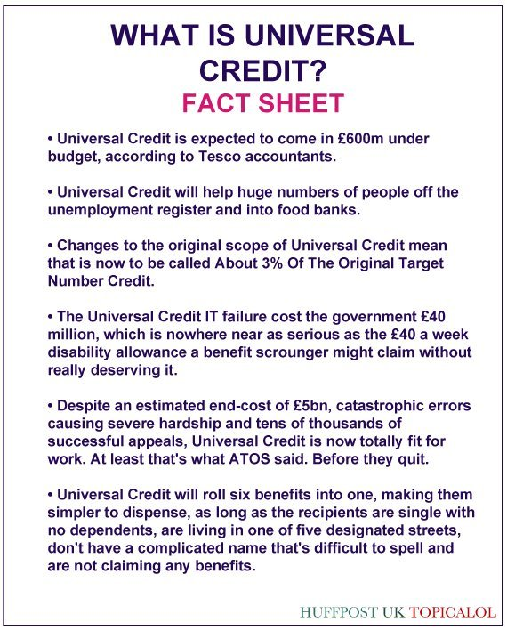 universal credit spoof