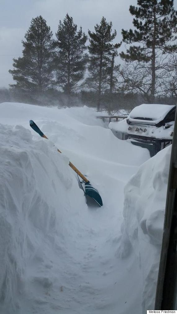 east gore nova scotia snow