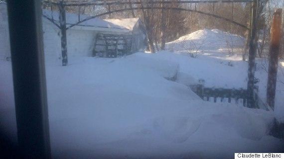 shediac nb snow