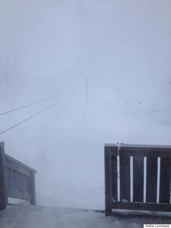 memrancook nb snow
