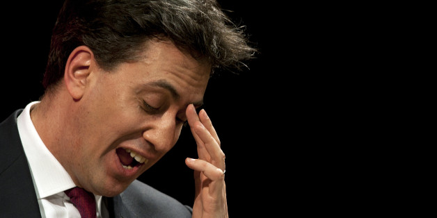 Leader of the Labour Party Ed Miliband delivers a speech on education policy at his former school Haverstock School, in north London.
