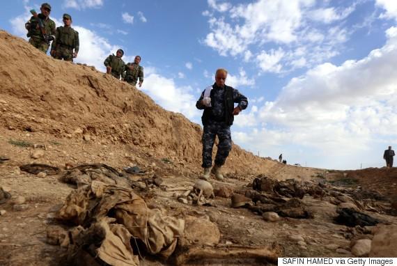 isis iraq grave