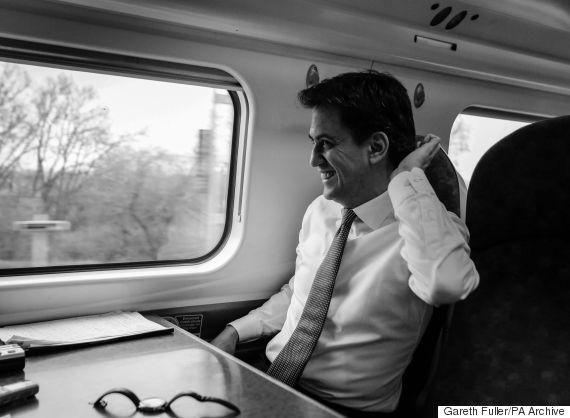 ed miliband train