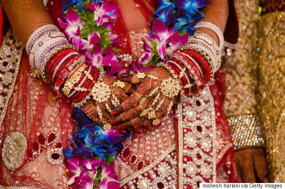 indian bride garland