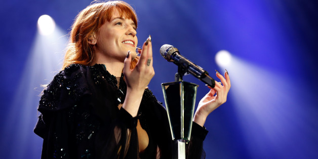 LONDON, ENGLAND - DECEMBER 05:  Florence Welch of Florence And The Machine performs live on stsge at 02 Arena on December 5, 2012 in London, England.  (Photo by Simone Joyner/Getty Images)