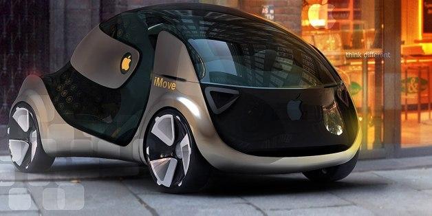 Une Apple Car imaginée par un designer.