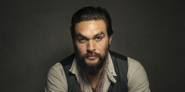 Jason Momoa poses for a portrait at The Collective and Gibson Lounge Powered by CEG, during the Sundance Film Festival, on Friday, Jan. 17, 2014 in Park City, Utah. (Photo by Victoria Will/Invision/AP)