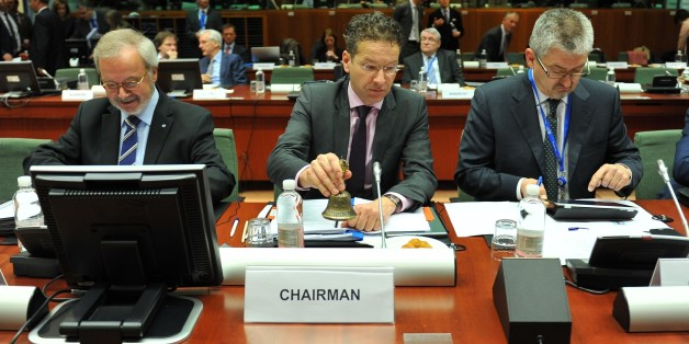 BRUSSELS, BELGIUM - FEBRUARY 17: Netherlands' Finance Minister Jeroen Dijsselbloem attends to European Economic and Financial Affairs (ECOFIN) meeting at the European Council in Brussels, on February 17, 2015. (Photo by Dursun Aydemir/Anadolu Agency/Getty Images)
