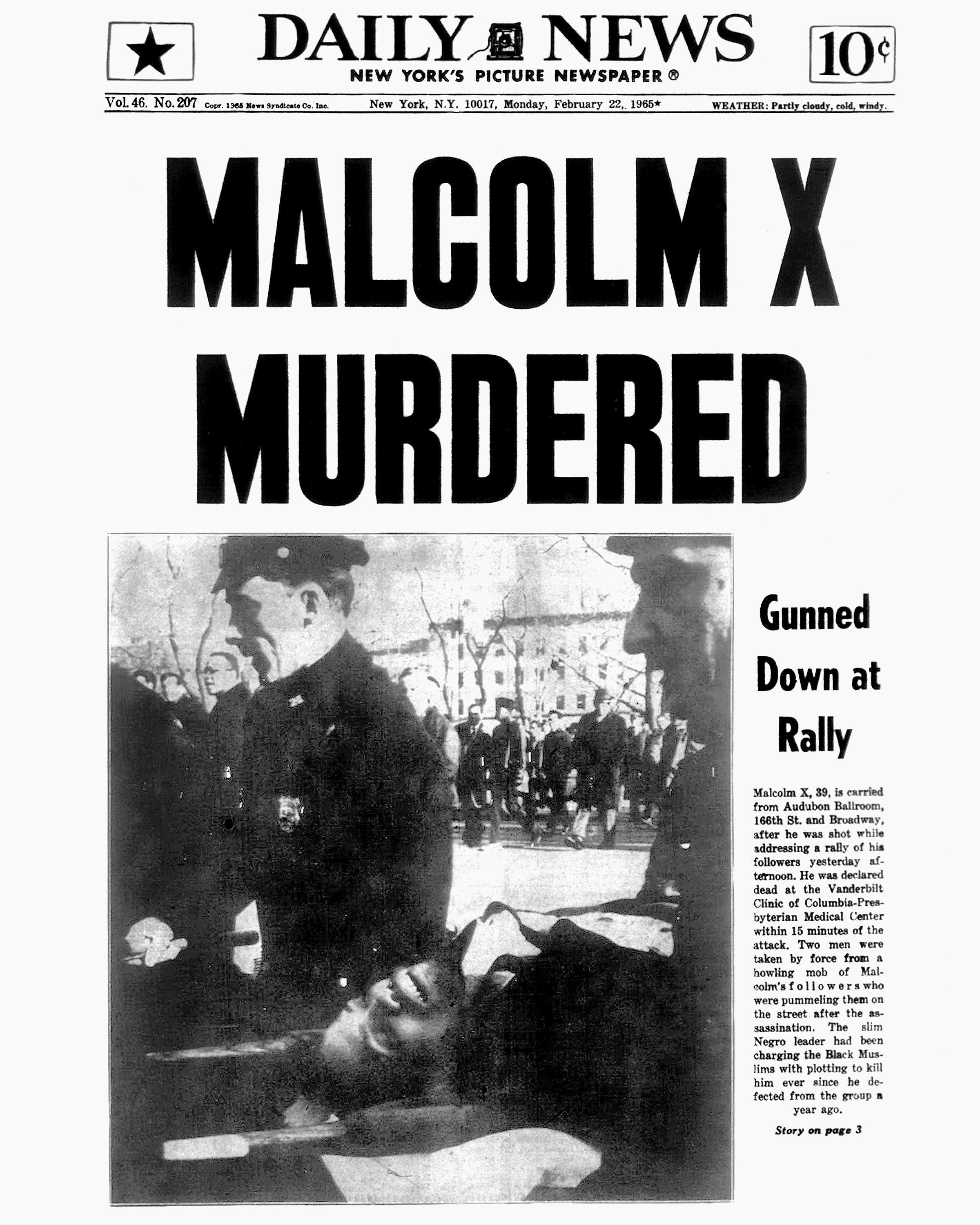 malcolm x assassination