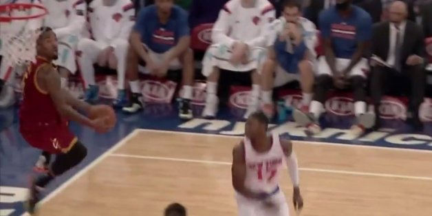 J.R. Smith Embarrasses The Knicks With Vicious Alley-Oop In Return To Madison Square Garden